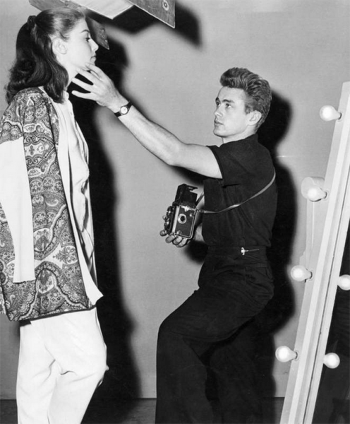 James Dean & Rolleiflex and Anna Maria Pierangeli