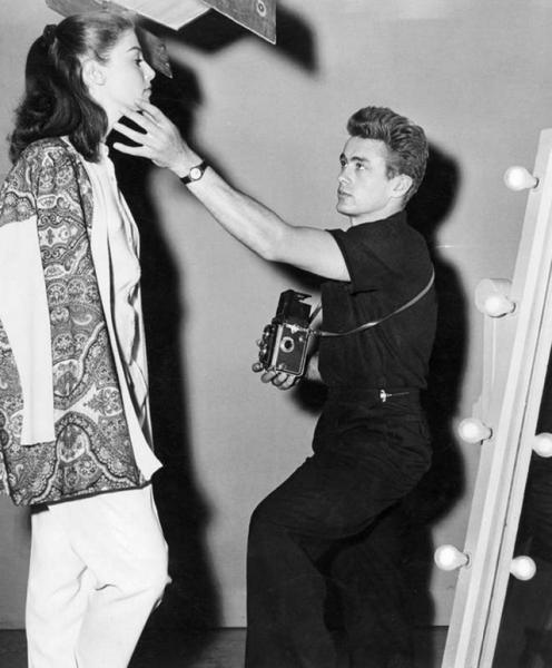 James Dean & Rolleiflex and Anna Maria Pierangeli