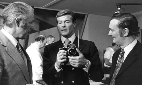 Roger Moore as Bond in The Man with the Golden Gun